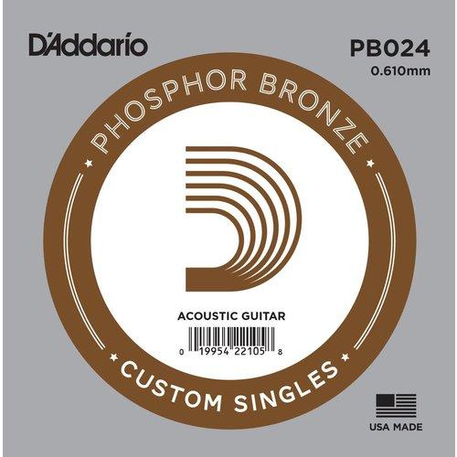 D'Addario D'Addario Single String, Phosphor Bronze
