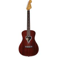 Fender Alkaline Trio Malibu, Mahogany, Heart Shaped Rosette