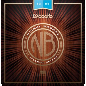 D'Addario Nickel Bronze Acoustic String Set