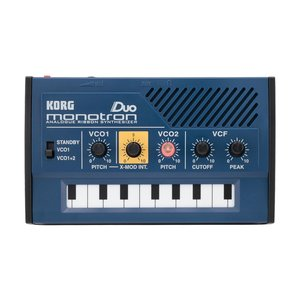 Korg Monotron Duo Synth Analogue Ribbon Synthesizer