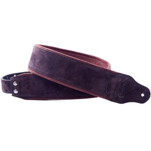 RightOn! Guitar Strap, Jazz Suede Brown