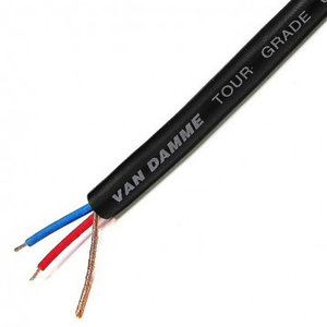 Van Damme Tour Grade Classic XKE Microphone Cable, per meter, Black