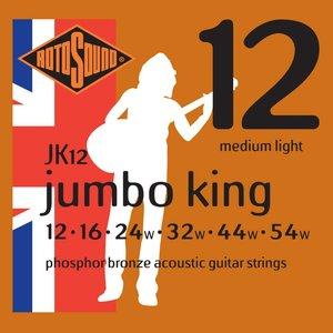 Rotosound Jumbo King Acoustic Guitar String Set