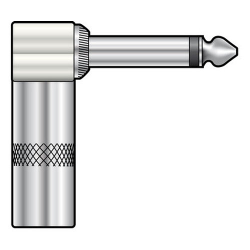 QTX QTX 6.3mm Right Angled Jack Plug