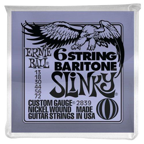 Ernie Ball Ernie Ball Baritone Slinky Guitar String Set, .013-.072