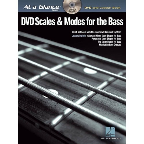 Hal Leonard At A Glance - Scales & Modes For Bass