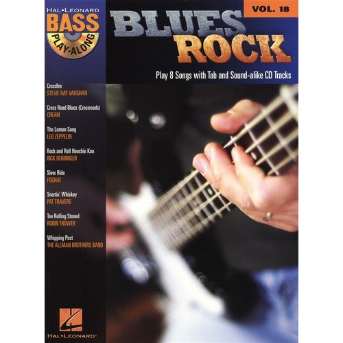 Hal Leonard Bass Play-Along Volume 18: Blues Rock