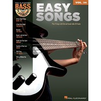 Bass Play-Along Volume 34: Easy Songs