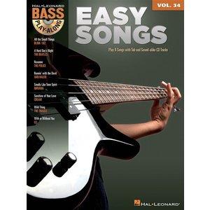 Bass Play-Along Volume 34: Easy Songs