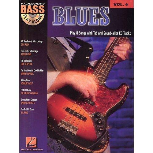 Hal Leonard Blues Bass Play-Along (Book/CD)