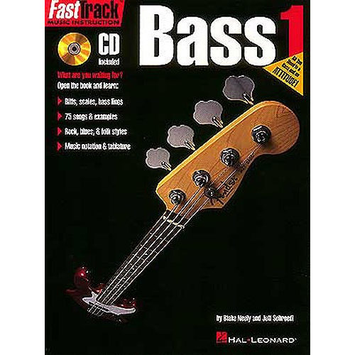 Hal Leonard Fast Track: Bass - Book One