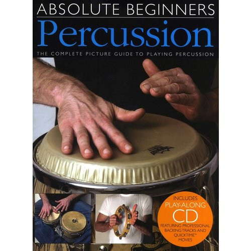 Wise Publications Absolute Beginners - Percussion