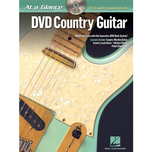 Hal Leonard At A Glance Guitar - Country Guitar