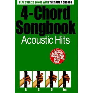 4-Chord Songbook: Acoustic Hits