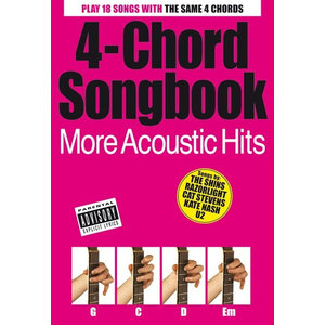 4-Chord Songbook: More Acoustic Hits