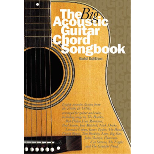 Wise Publications The Big Acoustic Guitar Chord Songbook (Gold Edition)