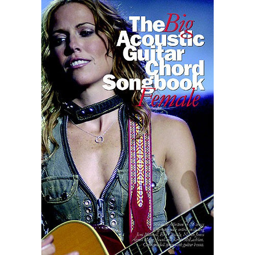 Wise Publications The Big Acoustic Guitar Chord Songbook Female