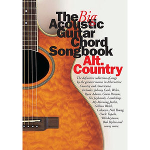 The Big Acoustic Guitar Chord Songbook: Alt.Country