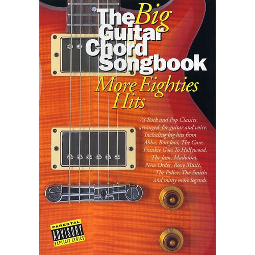 Wise Publications The Big Guitar Chord Songbook: More Eighties Hits