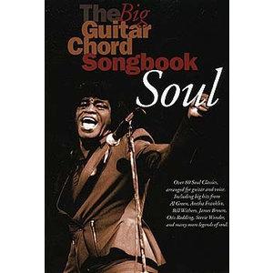 The Big Guitar Chord Songbook: Soul