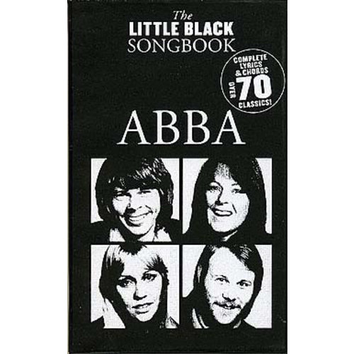 Wise Publications The Little Black Songbook: ABBA