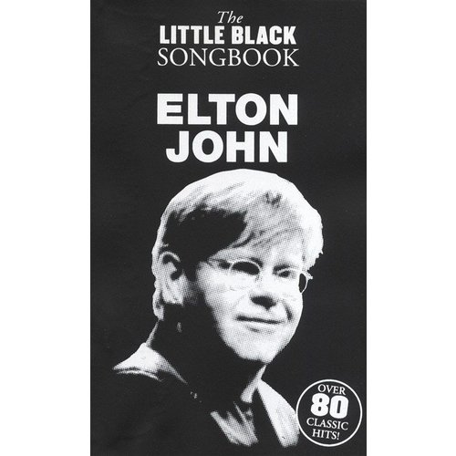 Wise Publications The Little Black Songbook: Elton John