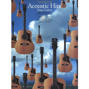 Acoustic Hits Easy Guitar