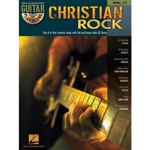 Hal Leonard Guitar Play-Along Vol.71: Christian Rock