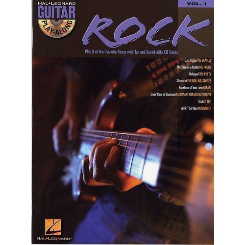Hal Leonard Guitar Play-Along Volume 1: Rock