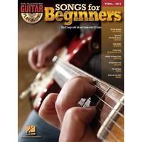 Guitar Play-Along Volume 101: Songs For Beginners