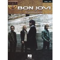 Guitar Play-Along Volume 114: Bon Jovi