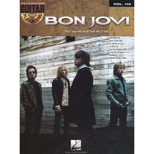 Hal Leonard Guitar Play-Along Volume 114: Bon Jovi