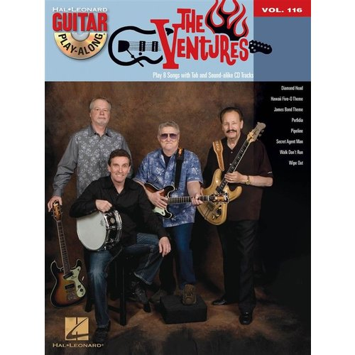 Hal Leonard Guitar Play-Along Volume 116: The Ventures