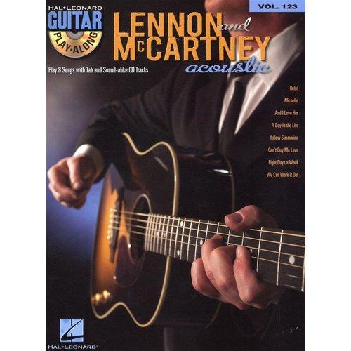 Hal Leonard Guitar Play-Along Volume 123: Lennon & McCartney Acoustic