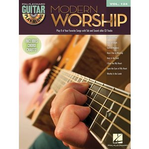 Guitar Play-Along Volume 124: Modern Worship