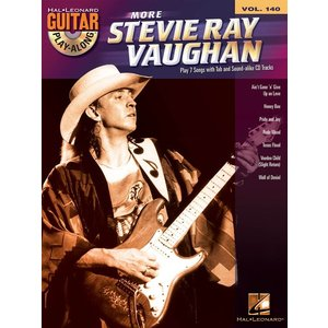 Guitar Play-Along Volume 140: More Stevie Ray Vaughan