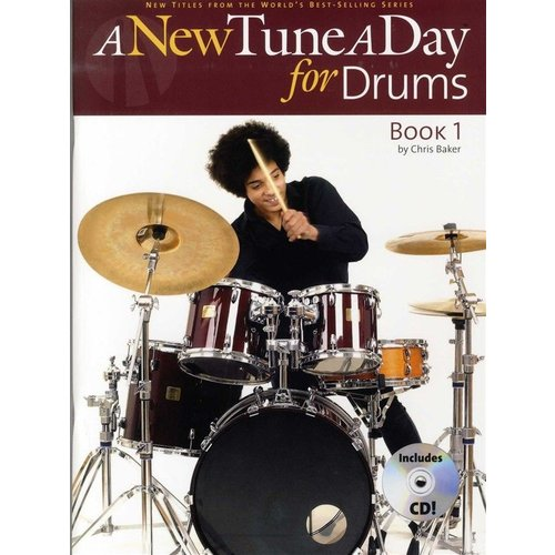 Boston Music A New Tune A Day For Drums: Book One (Book And CD)