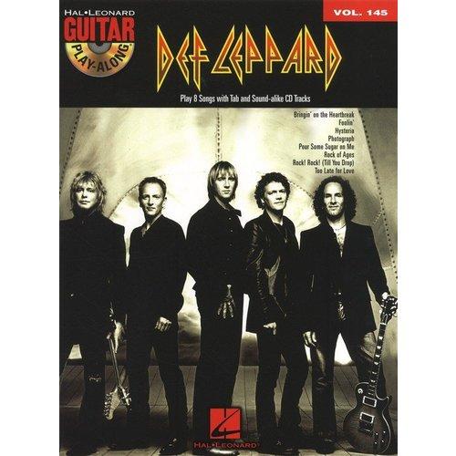 Hal Leonard Guitar Play-Along Volume 145: Def Leppard