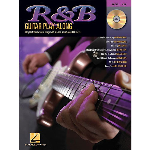 Hal Leonard Guitar Play-Along Volume 15: R&B