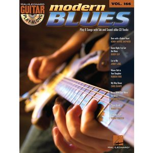 Guitar Play-Along Volume 166: Modern Blues