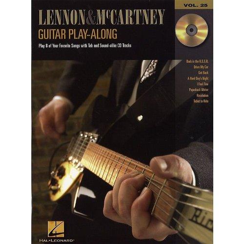 Hal Leonard Guitar Play-Along Volume 25: Lennon And McCartney