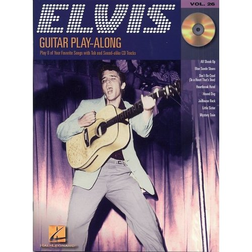 Hal Leonard Guitar Play-Along Volume 26: Elvis Presley