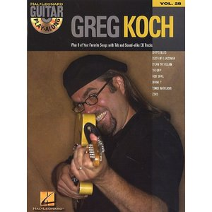 Guitar Play-Along Volume 28: Greg Koch