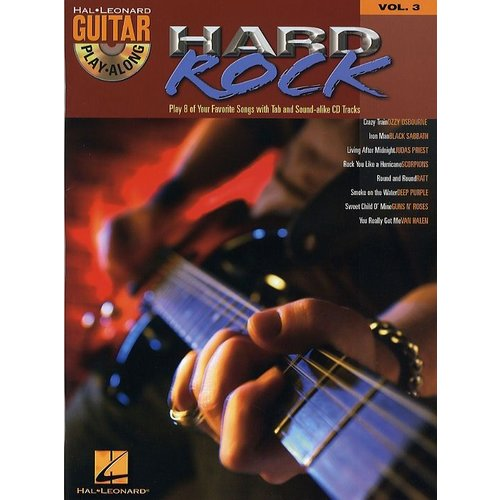 Hal Leonard Guitar Play-Along Volume 3: Hard Rock
