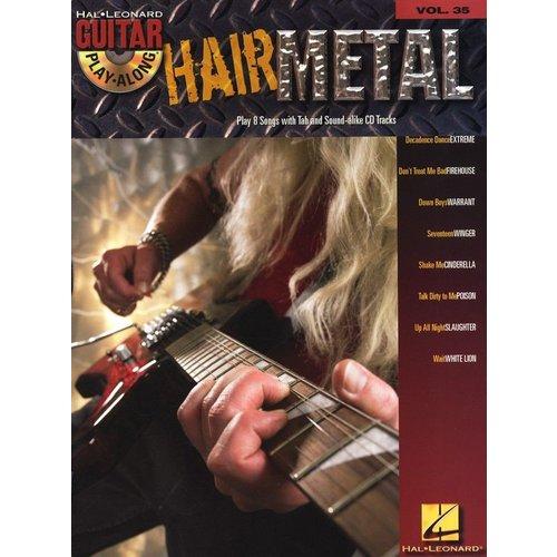 Hal Leonard Guitar Play-Along Volume 35: Hair Metal