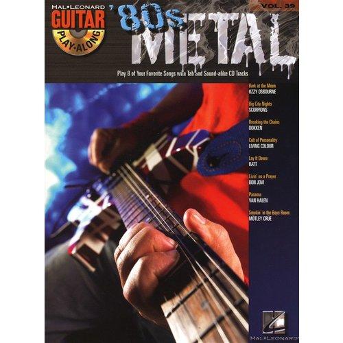 Hal Leonard Guitar Play-Along Volume 39: '80s Metal