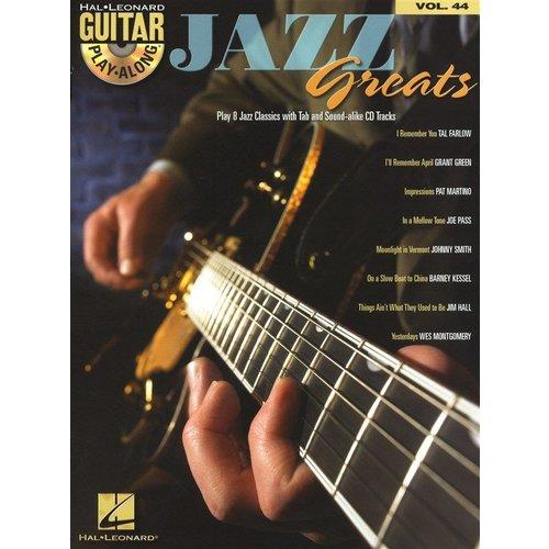 Hal Leonard Guitar Play-Along Volume 44: Jazz Greats
