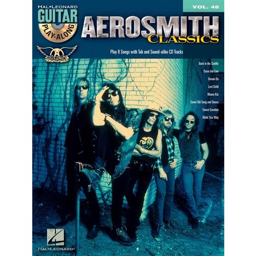 Hal Leonard Guitar Play-Along Volume 48: Aerosmith Classics