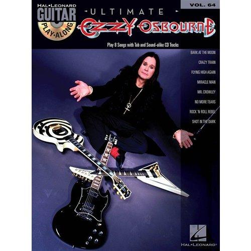 Hal Leonard Guitar Play-Along Volume 64: Ultimate Ozzy Osbourne