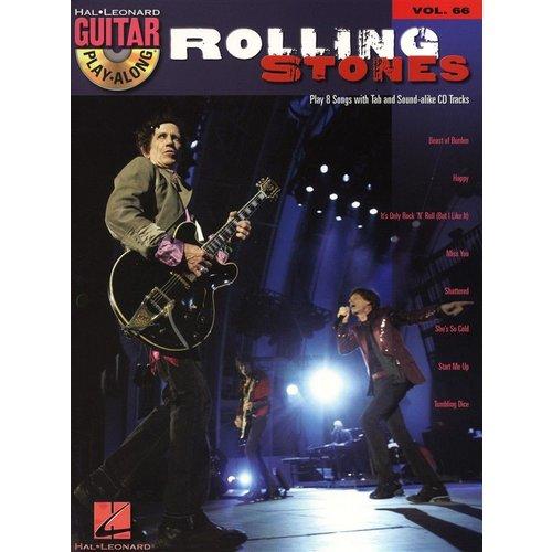 Hal Leonard Guitar Play-Along Volume 66: Rolling Stones